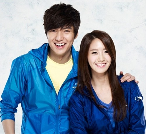 YOONA and Lee Minho @ Eider