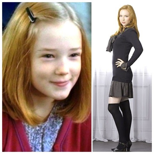 Younger and older Lily Potter