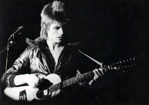 Ziggy Stardust wallpaper with a guitarist titled Ziggy