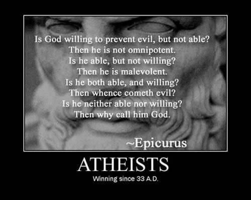 atheists winning