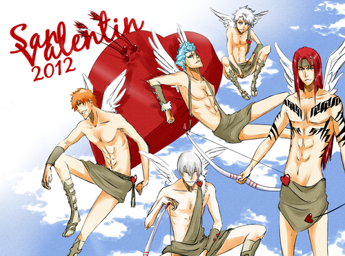 bleach valentine's day!