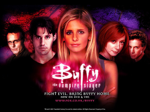 テレビ 壁紙 possibly containing a candle titled buffy the vampire slayer