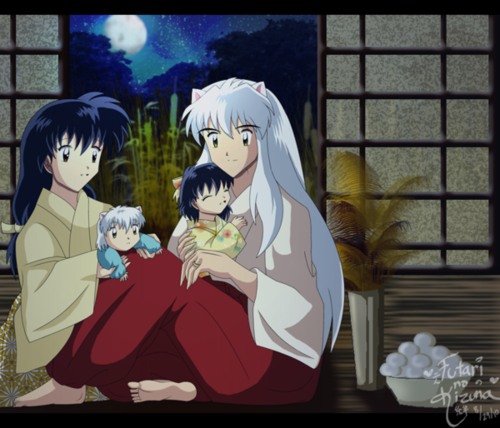 Inuyasha.:The Final Act:. fondo de pantalla entitled family night