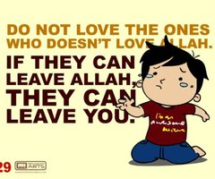 i luv ALLAH ! X :') - islam Photo