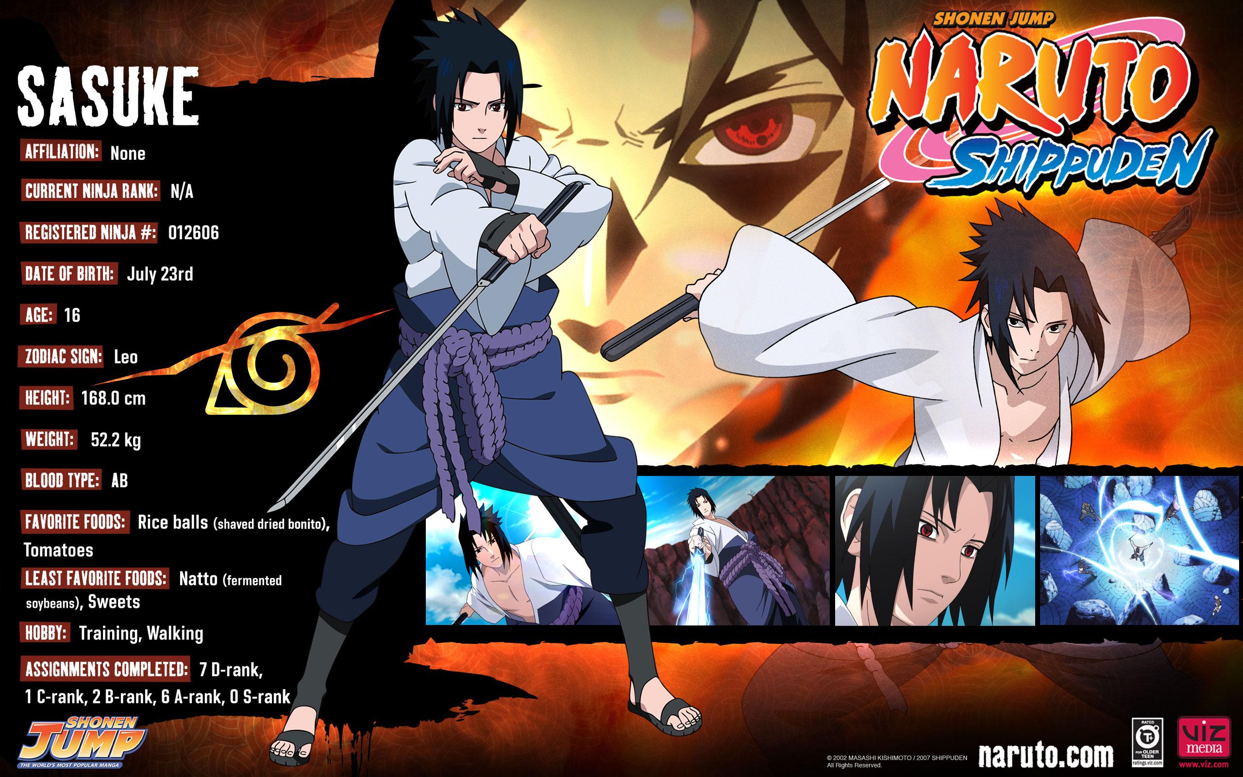 Naruto shippuuden informations