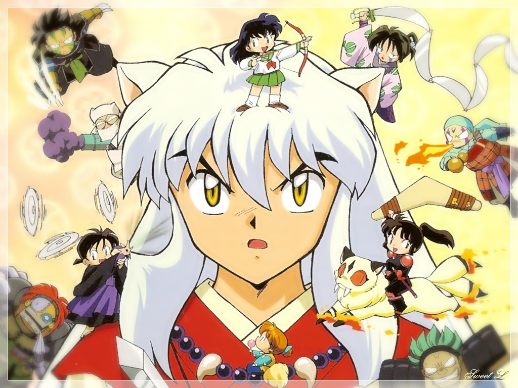 The Adventures Of Cell Images Inuyasha And Chibi Friends HD Wallpaper Background Photos
