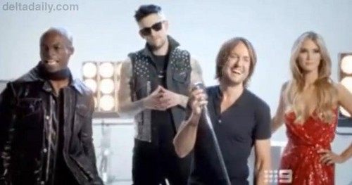 keith urban the voice promo