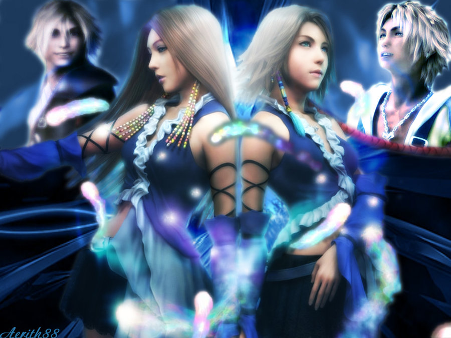 Final Fantasy Lenne And Shuyin lenne and yuna