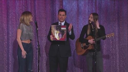 miley- Performances > 2012 > Jimmy Kimmel Live [15th February]