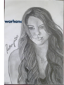 miley cyrus drawing by Me_warhan6