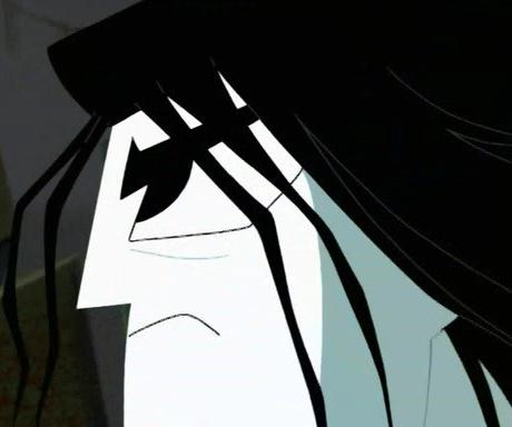 Samurai Jack Hintergrund probably with a tabard, wappenrock entitled my hair should've stayed THIS color