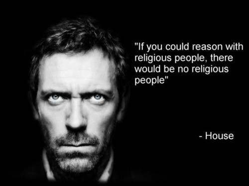 reason with religious people