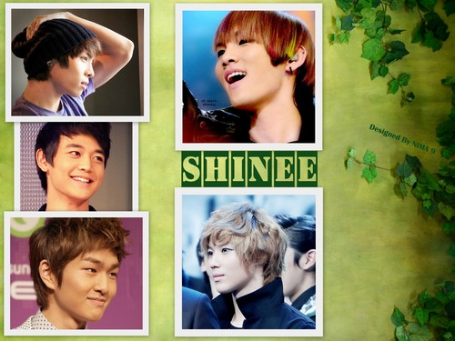 Shinee wallpaper possibly containing a portrait called shinee for ever