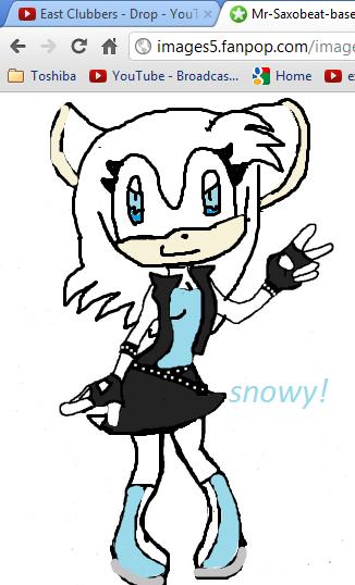 snowy the hedgehog again!!!!!!!