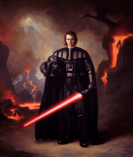 anakin skywalker wallpaper containing a fogo called still anakin