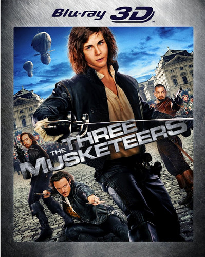 the thre musketeers Blu-ray