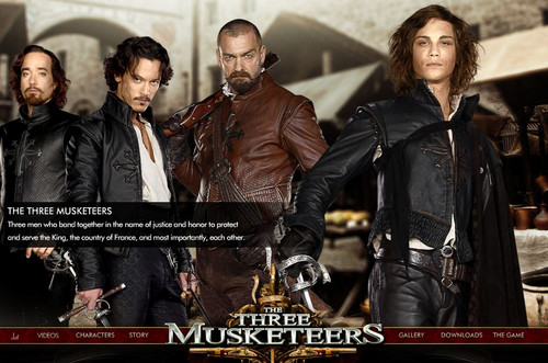 the three musketeers poster 4