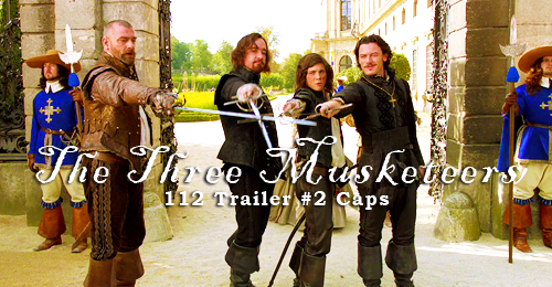 the three musketeers!!!