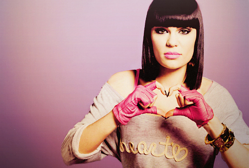 Jessie J wallpaper probably containing an outerwear, a blouse, and a pullover entitled <33