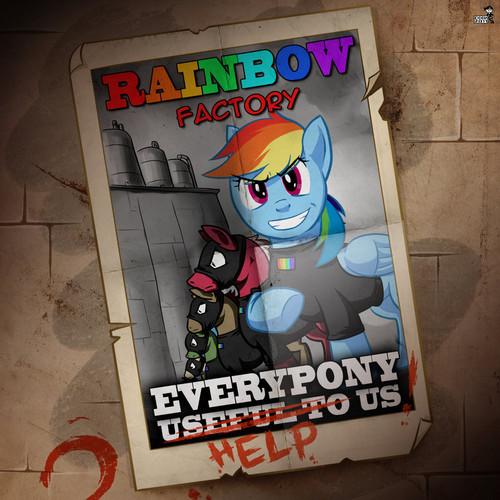 -Hangs up Poster-