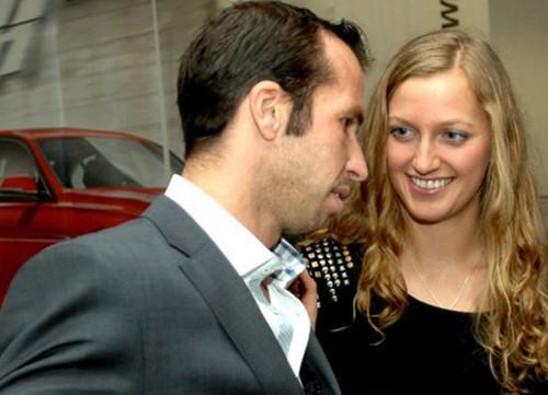 Kvitova & Stepanek form a pair !