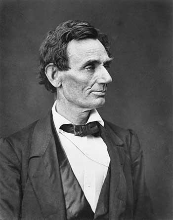Abraham lincoln (February 12, 1809 – April 15, 1865