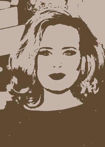 Adele Stencil