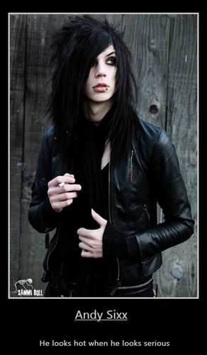 Andy Sixx of BVB