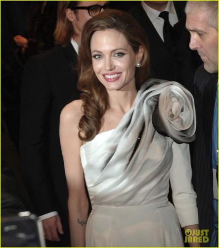 Angelina Jolie & Brad Pitt: 'Blood & Honey' Paris Premiere!