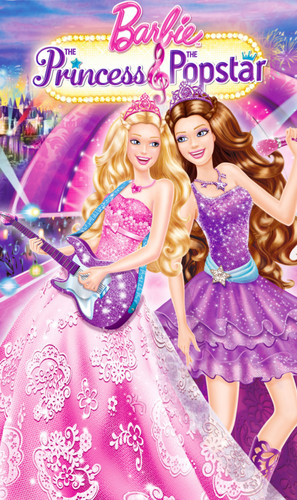 búp bê barbie The Princess And The Popstar Cover