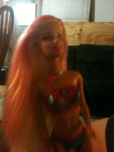 Barbie in A mermaid tale doll