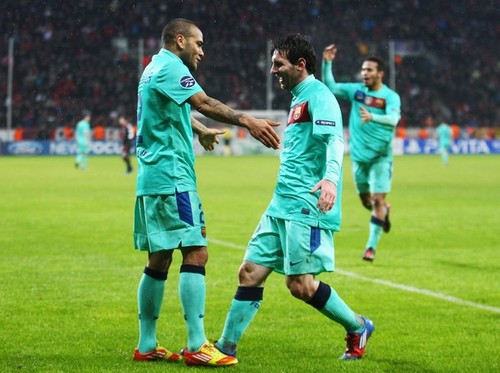 Bayer Leverkusen (1) v FC Barcelona (3) - UEFA Champions League
