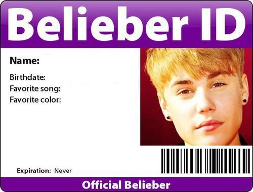 Belieber I.D ♥