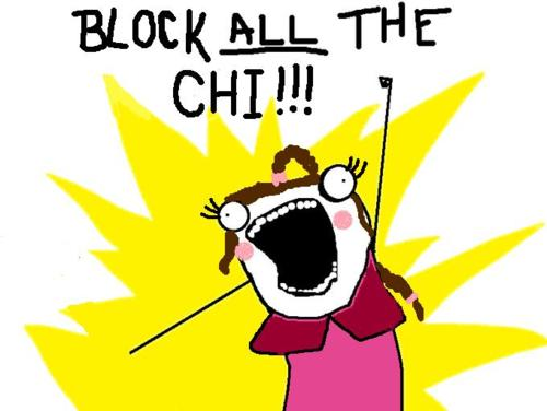 Block ALL the Chi!