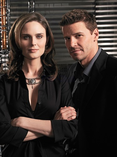 Temperance Brennan karatasi la kupamba ukuta with a business suit titled Booth and Bones