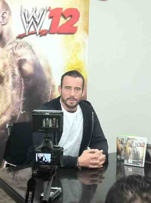 CM Punk WWE 12'