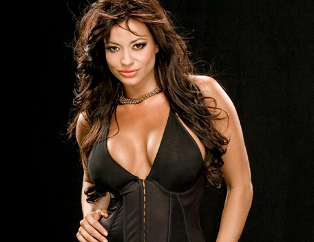 Candice Michelle Обои probably containing a bustier, a maillot, and a leotard called Candice Michelle Photoshoot Flashback