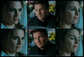 замок & Beckett Обои probably containing a portrait called Caskett Любовь <3
