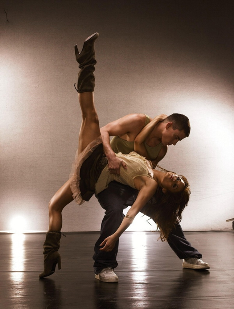 Step Up Steps: Channing Tatum And Jenna Dewan