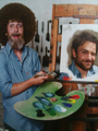 Charlie Day As Bob Ross - charlie-day photo