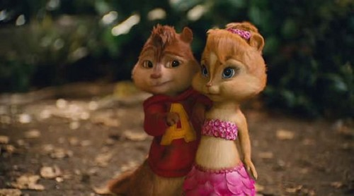 alvin and brittany wallpaper titled Chipwrecked :)