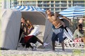 Chris Brown: Shirtless in Miami Beach! - chris-brown photo