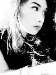 """Christina Lovato """"Black یا White"""" photoshoot"""
