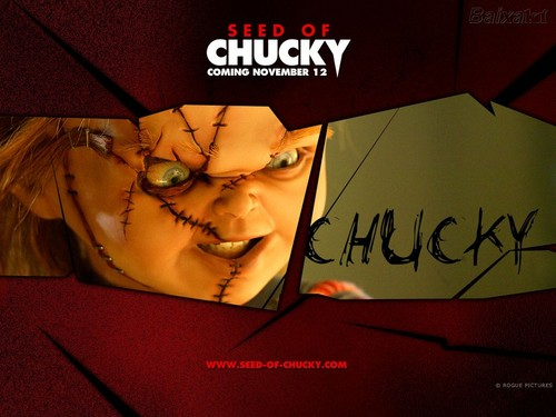 Horror films achtergrond containing anime called Chucky