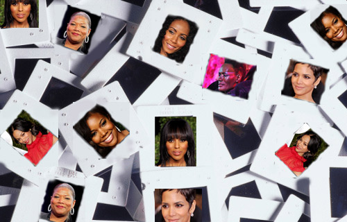 Collage of Black Entertainers