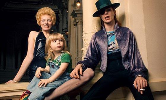 David, Angie and son Zowie - David Bowie Photo (29195817 ...