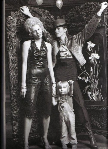 David Bowie images David, Angie and son Zowie wallpaper ...