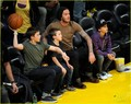David Beckham: Lakers Game with the Boys! - david-beckham photo