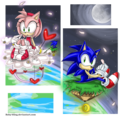 Different worlds - sonic-and-amy fan art