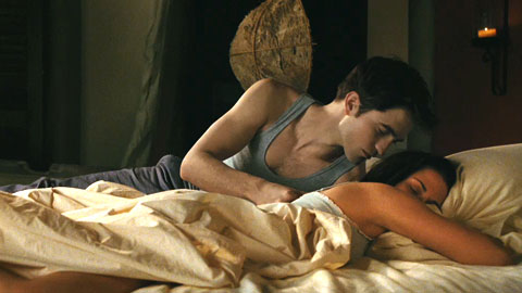 Edward and Bella happy together